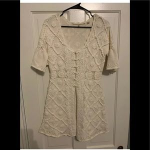 Anthropologie Knitted & Knotted Cardigan medium